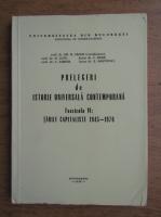 Anticariat: Gh. N. Cazan - Prelegeri de istorie univesala contemporana, volumul 6. Tarile capitaliste