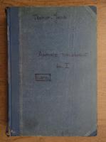 L. Testut - Traite d'anatomie topographique (volumul 1, 1909)