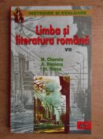 Mariana Cheroiu, Antonia Dimieru, Stefan M. Ilinca - Limba si literatura romana pentru clasa a VII-a (2002)