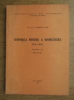 Matei D. Vlad - Istoria Medie a Romaniei, 1711-1821, note de curs (volumul 1)