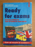 Radu Lupuleasa - Ready for exams, baccalaureate and students contests