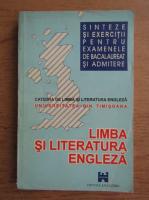 Anticariat: Sinteze de limba si literatura engleza pentru examenele de bacalaureat si admitere
