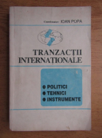 Anticariat: Ioan Popa - Tranzactii internationale