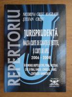 Nicorina Crisu Magraon, Stefan Crisu - Repertoriu. Jurisprudenta selectiva. Inalta Curte de Casatie si Justitie, si curti de apel, 2006-2008