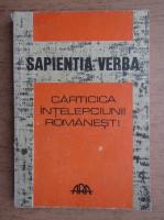 Anticariat: Sapientia Verba. Carticica intelepciunii romanesti