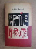 Anticariat: V. Em. Galan - Cartile Horoditei