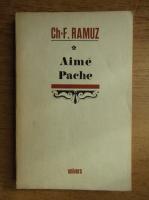 Anticariat: Charles Ferdinand Ramuz - Aime Pache. Pictor din Vaud