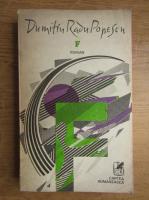 Anticariat: Dumitru Radu Popescu - F