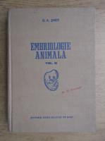 Anticariat: G. A. Smidt - Embriologie animala (volumul 2)