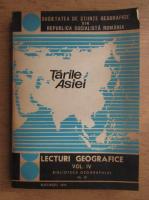 Anticariat: Lecturi geografice, volumul 4. Tarile Asiei