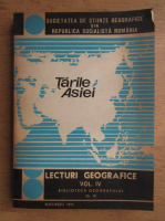 Lecturi geografice, volumul 4. Tarile Asiei