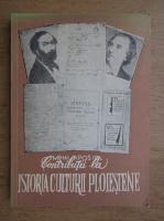 Anticariat: Mihai Apostol - Contributii la istoria culturii ploiestene