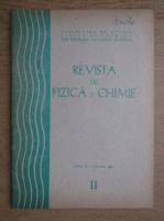 Anticariat: Revista de fizica si chimie. Anul XX, noiembrie 1983