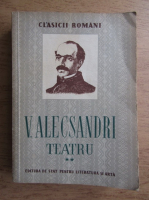 Vasile Alecsandri - Teatru (volumul 2)
