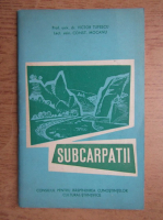 Anticariat: Victor Tufescu - Subcarpatii