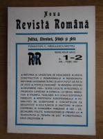 Anticariat: C. Radulescu-Motru - Noua Revista Romana, politica, literatura, stiinta si arta, nr. 1-2, ianuarie-februarie 1997