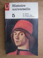 Anticariat: Carl Grimberg - Histoire universelle, volumul 5. Le declin du Moyen Age et la Renaissance