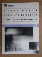 David Walsh - Vegheati de mister. Sensul intr-o lume postmoderna