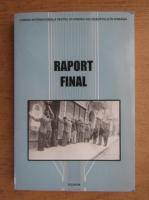 Elie Wiesel - Raport final asupra Holocaustului in Romania