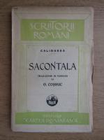 Anticariat: George Cosbuc - Sacontala, poema indiana (1925)