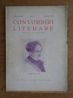 I. E. Toroutiu - Convorbiri literare, anul LXXIV, nr. 3, martie 1941