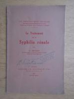 A. Sezary - Le traitement de la syphilis renale (1934)