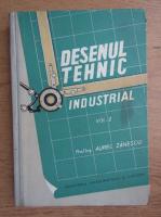 Anticariat: Aurel Zanescu - Desenul tehnic industrial (volumul 2)