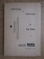 Faust Bradescu - Conducere si disciplina