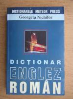 Anticariat: Georgeta Nichifor - Dictionar englez-roman