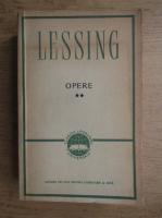 Anticariat: Gotthold Ephraim Lessing - Opere (volumul 2)