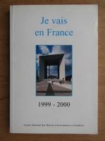 Anticariat: Je vais en France