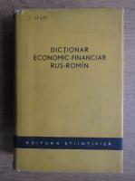 Dictionar economic-financiar rus-roman