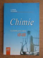 Anticariat: Doicin Luminita Irinel - Culegere de chimie pentru clasele VII-VIII (2008)