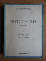 Dragos Protopopescu - Teatru englez (volumul 1, 1943)