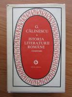 Anticariat: George Calinescu - Istoria literaturii romane