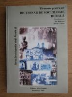 Ilie Badescu, Darie Cristea - Elemente pentru un dictionar de sociologie rurala