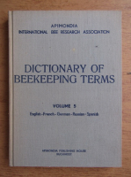 International bee research association dictionary of beekeeping terms (volumul 5)