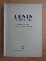 Anticariat: Lenin Vladimir Ilici. Scurta expunere a vietii si activitatii sale