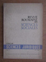 Anticariat: Revue roumaine des science sociales. Serie de science juridiques, tome 10, nr. 1,anul 1966