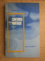 Anticariat: Robert Deutsch - Conferinta de la Montreux