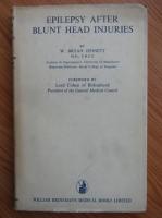 W. Bryan Jennett - Epilepsy after blunt head injuries