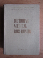 Dictionar medical rus-roman