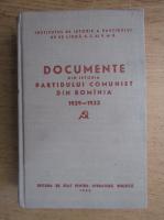 Anticariat: Documente din istoria Partidului Comunist din Romania (volumul 3, 1929-1933)