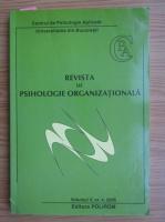 Anticariat: Revista de psihologie organizationala, volumul V, nr. 4, anul 2005
