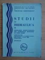 Studii de hidraulica, numarul 9