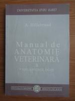 Anticariat: A. Hillebrand - Manual de anatomie veterinara (volumul 2)