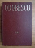 Anticariat: Alexandru Odobescu - Opere (volumul 8)