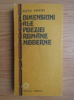 Anticariat: Elena Indries - Dimensiuni ale poeziei romane moderne