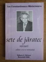 Anticariat: Ion Constantinescu Maracineanu - Sete de jaratec