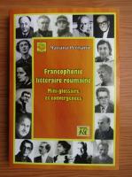 Mariana Perisanu - Francophonie litteraire roumaine